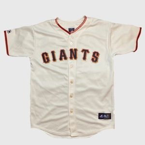 Majestic Shirts - Authentic San Francisco Giants Aaron Rowan Jersey